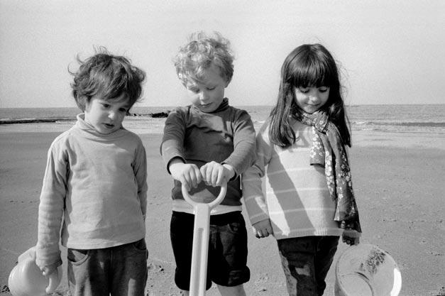 Photographe et portrait d'enfants